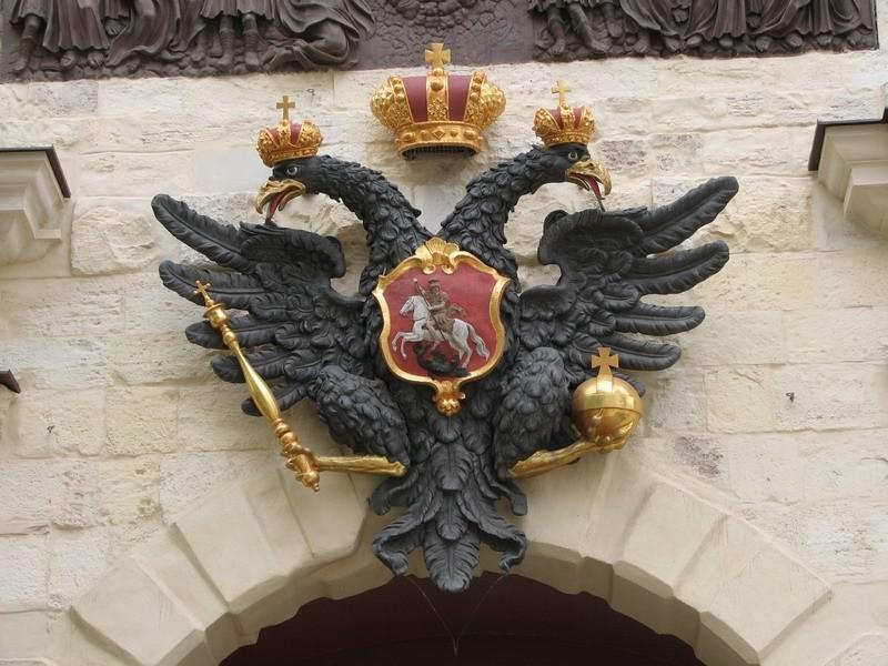 почему герб россии двуглавый орел